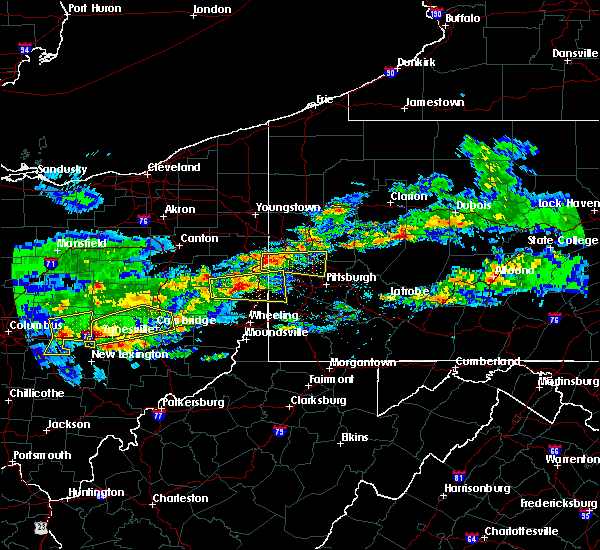 Radar Image for Severe Thunderstorms near Monaca, PA at 3/28/2020 3:34 PM EDT
