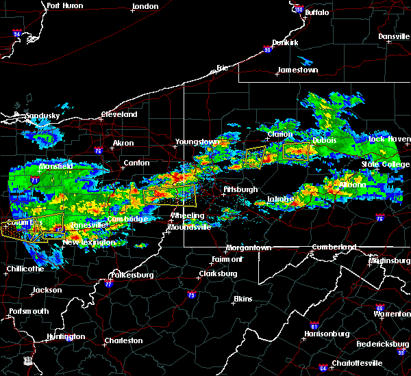 Radar Image for Severe Thunderstorms near Monaca, PA at 3/28/2020 3:35 PM EDT