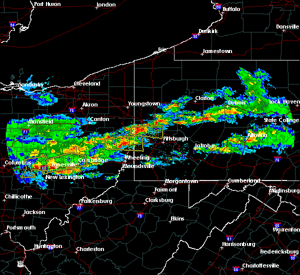 Radar Image for Severe Thunderstorms near Paris, PA at 3/28/2020 3:43 PM EDT