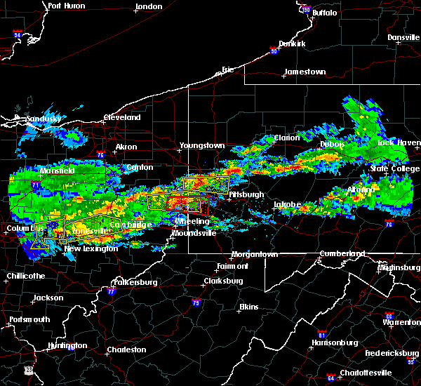 Radar Image for Severe Thunderstorms near Monaca, PA at 3/28/2020 3:45 PM EDT