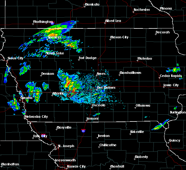 Radar Image for Severe Thunderstorms near Stuart, IA at 3/28/2020 2:48 PM CDT