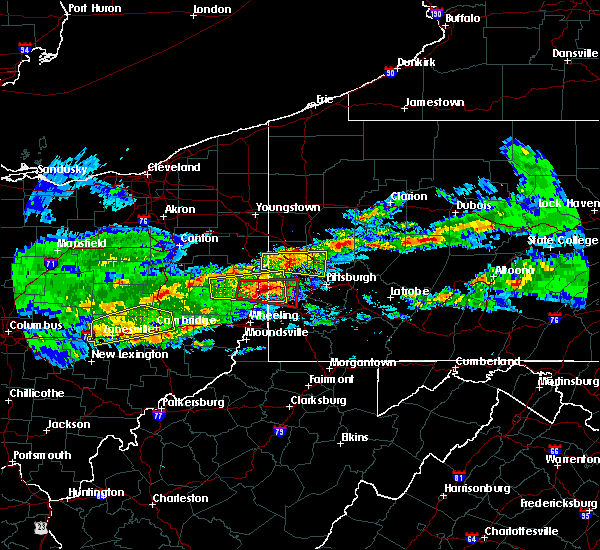 Radar Image for Severe Thunderstorms near Paris, PA at 3/28/2020 3:53 PM EDT