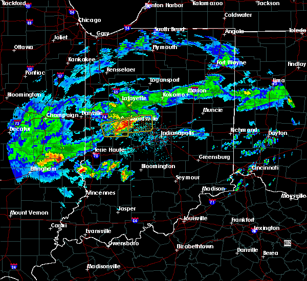 Radar Image for Severe Thunderstorms near Indianapolis, IN at 3/28/2020 3:59 PM EDT