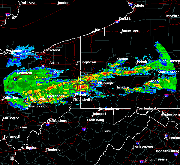 Radar Image for Severe Thunderstorms near Cheswick, PA at 3/28/2020 3:59 PM EDT