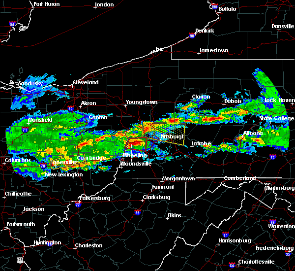 Radar Image for Severe Thunderstorms near Paris, PA at 3/28/2020 4:02 PM EDT