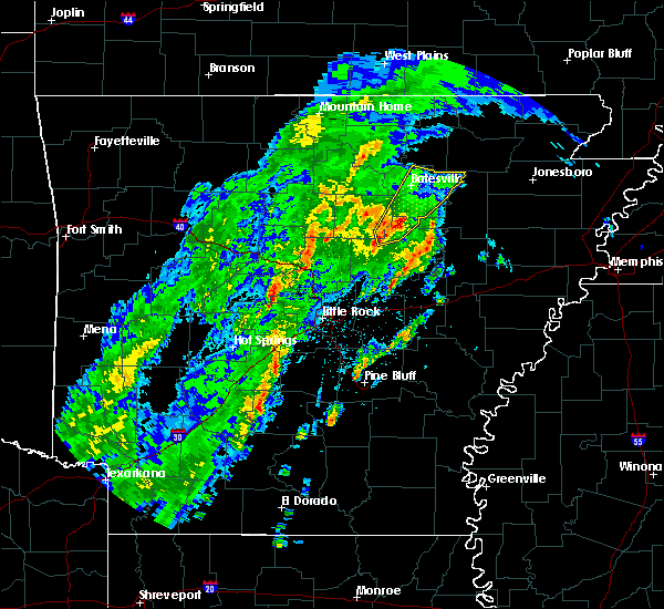 Radar Image for Severe Thunderstorms near Batesville, AR at 3/28/2020 3:14 PM CDT