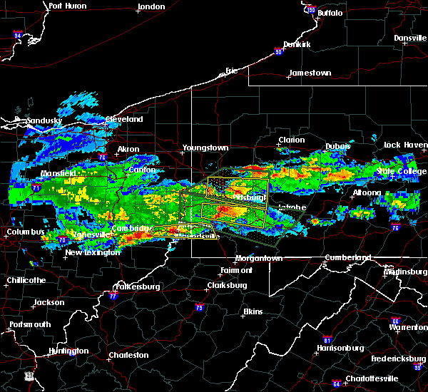 Radar Image for Severe Thunderstorms near Elrama, PA at 3/28/2020 4:30 PM EDT