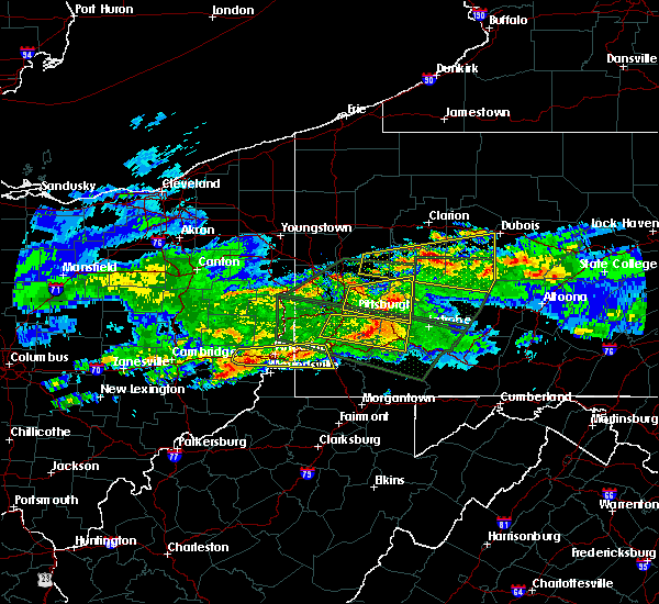 Radar Image for Severe Thunderstorms near Elrama, PA at 3/28/2020 4:49 PM EDT