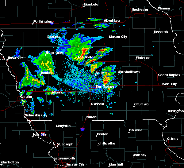 Radar Image for Severe Thunderstorms near Melbourne, IA at 3/28/2020 4:13 PM CDT