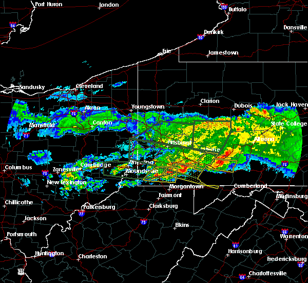 Radar Image for Severe Thunderstorms near Farmington, PA at 3/28/2020 5:41 PM EDT