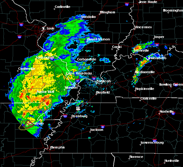 Radar Image for Severe Thunderstorms near Essex, MO at 3/28/2020 5:04 PM CDT