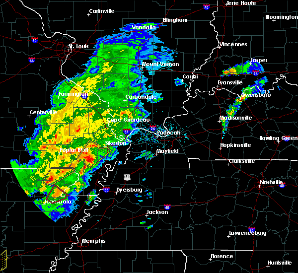 Radar Image for Severe Thunderstorms near Essex, MO at 3/28/2020 5:21 PM CDT
