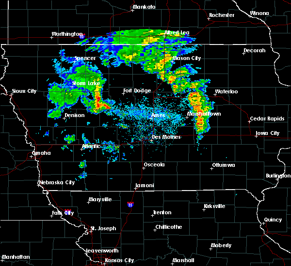 Radar Image for Severe Thunderstorms near Manson, IA at 3/28/2020 5:25 PM CDT