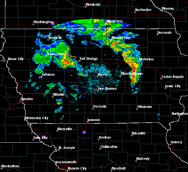 Radar Image for Severe Thunderstorms near Manson, IA at 3/28/2020 5:41 PM CDT