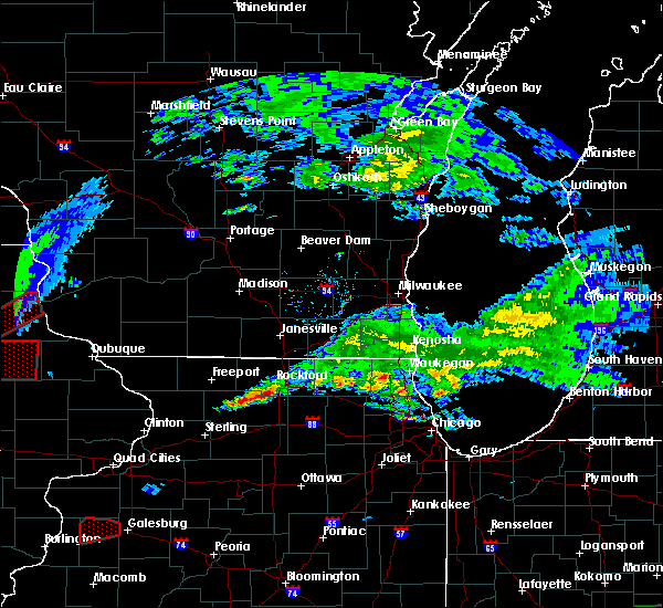 Radar Image for Severe Thunderstorms near New Milford, IL at 3/28/2020 7:04 PM CDT