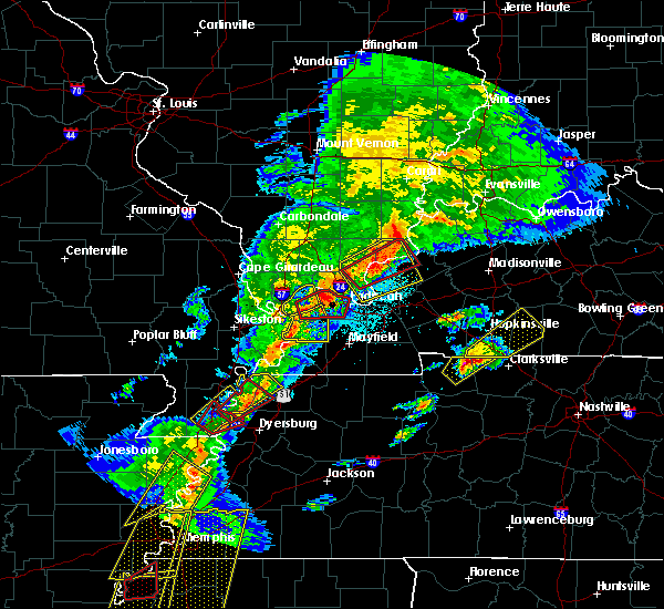Radar Image for Severe Thunderstorms near Cave-In-Rock, IL at 3/28/2020 7:30 PM CDT