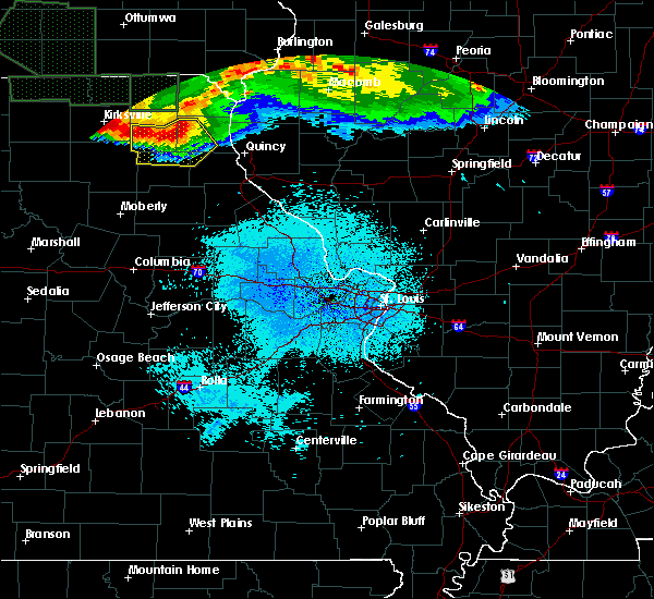 Radar Image for Severe Thunderstorms near La Belle, MO at 6/25/2015 12:32 AM CDT