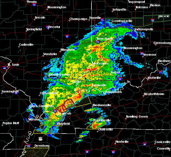 Radar Image for Severe Thunderstorms near Corydon, KY at 3/28/2020 7:54 PM CDT