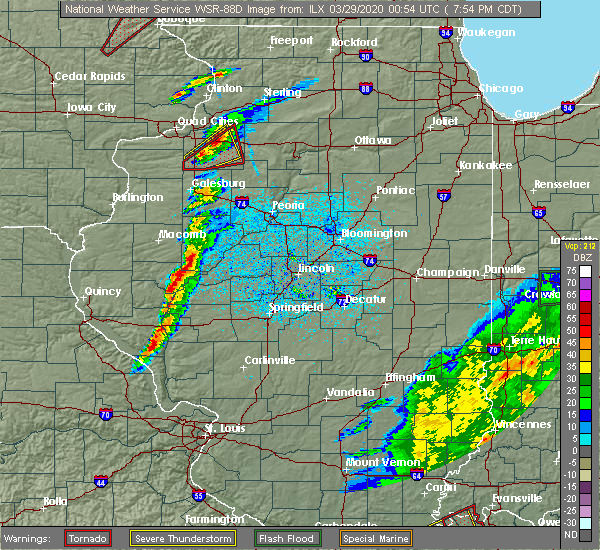 Radar Image for Severe Thunderstorms near St. David, IL at 3/28/2020 7:59 PM CDT