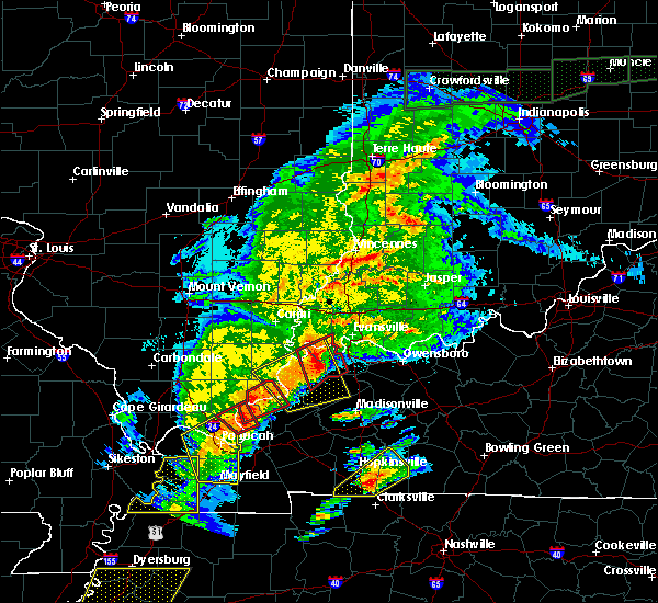 Radar Image for Severe Thunderstorms near Corydon, KY at 3/28/2020 8:04 PM CDT