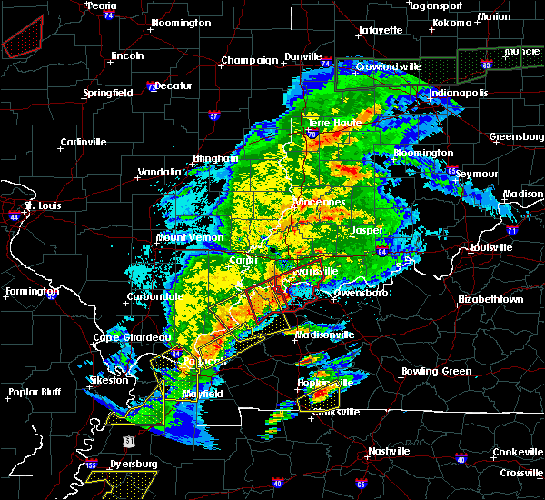 Radar Image for Severe Thunderstorms near Robards, KY at 3/28/2020 8:09 PM CDT