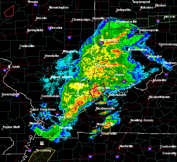 Radar Image for Severe Thunderstorms near Robards, KY at 3/28/2020 8:21 PM CDT