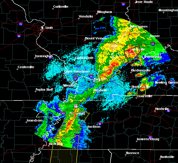 Radar Image for Severe Thunderstorms near Crayne, KY at 3/28/2020 8:24 PM CDT