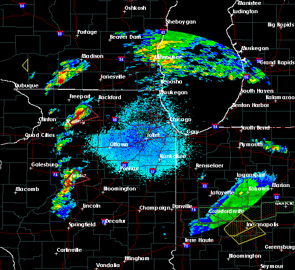 Radar Image for Severe Thunderstorms near Oregon, IL at 3/28/2020 9:06 PM CDT