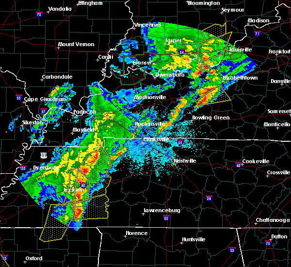Radar Image for Severe Thunderstorms near Decaturville, TN at 3/28/2020 9:40 PM CDT