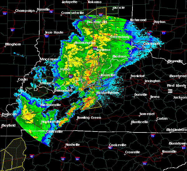Radar Image for Severe Thunderstorms near Upton, KY at 3/28/2020 9:54 PM CDT