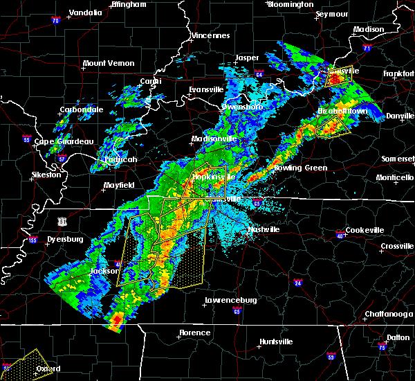 Radar Image for Severe Thunderstorms near Charlotte, TN at 3/28/2020 10:26 PM CDT