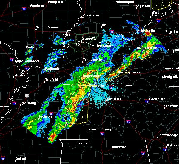 Radar Image for Severe Thunderstorms near Charlotte, TN at 3/28/2020 10:35 PM CDT