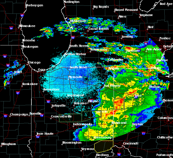 Radar Image for Severe Thunderstorms near Chickasaw, OH at 3/28/2020 11:46 PM EDT