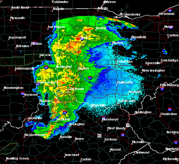 Radar Image for Severe Thunderstorms near Melbourne, KY at 3/29/2020 12:07 AM EDT