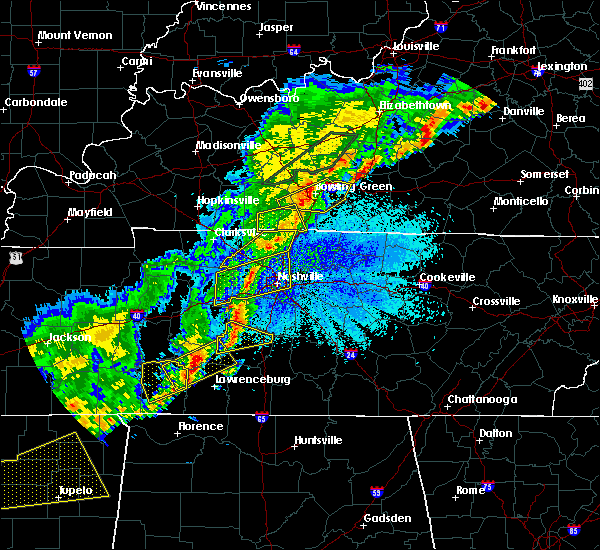 Radar Image for Severe Thunderstorms near Mitchellville, TN at 3/28/2020 11:31 PM CDT