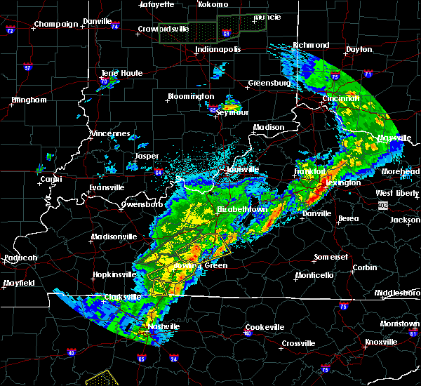 Radar Image for Severe Thunderstorms near Perryville, KY at 3/29/2020 12:57 AM EDT