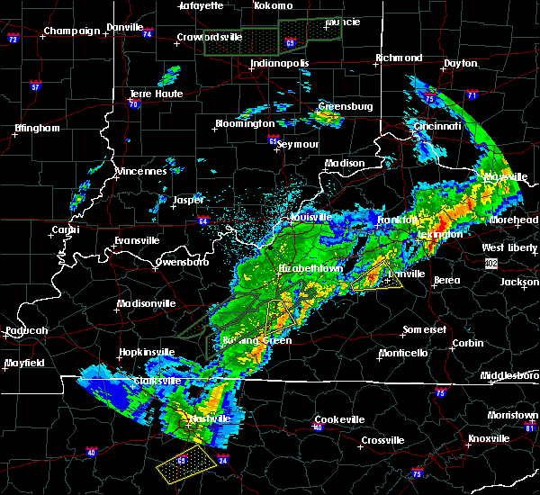 Radar Image for Severe Thunderstorms near Burgin, KY at 3/29/2020 1:09 AM EDT