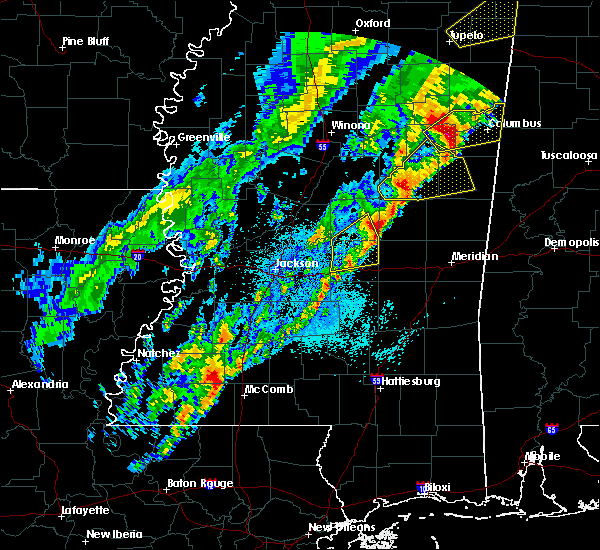 Radar Image for Severe Thunderstorms near Pearl River, MS at 3/29/2020 1:39 AM CDT