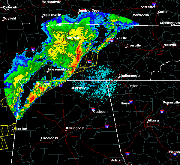 Radar Image for Severe Thunderstorms near Lexington, AL at 3/29/2020 1:40 AM CDT