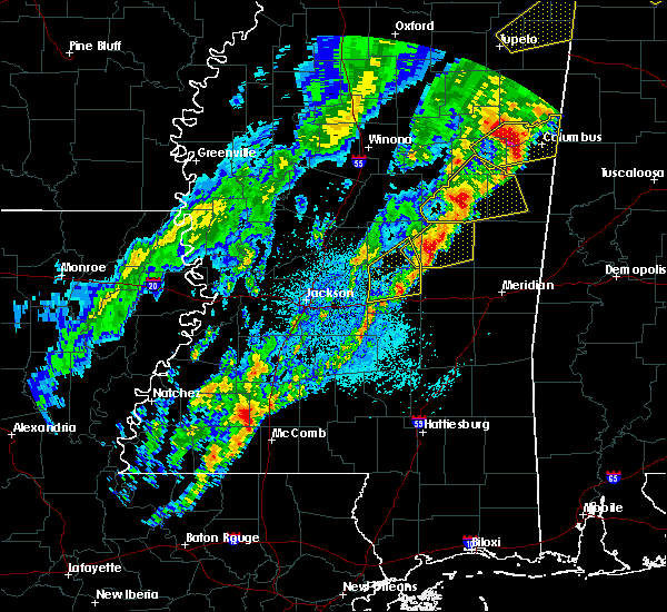 Radar Image for Severe Thunderstorms near Pearl River, MS at 3/29/2020 1:45 AM CDT