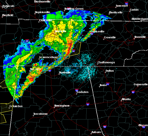 Radar Image for Severe Thunderstorms near Tullahoma, TN at 3/29/2020 1:53 AM CDT