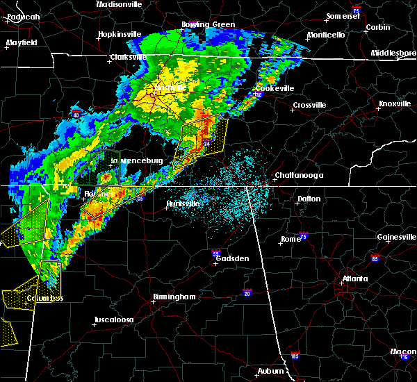 Radar Image for Severe Thunderstorms near Tullahoma, TN at 3/29/2020 1:59 AM CDT