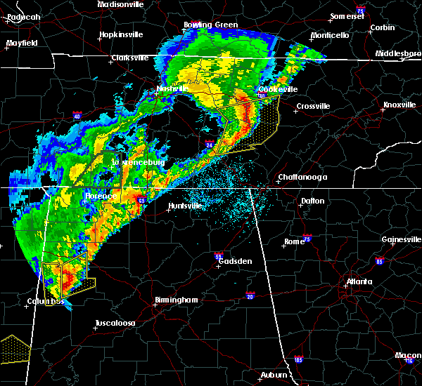Radar Image for Severe Thunderstorms near Athens, AL at 3/29/2020 2:23 AM CDT