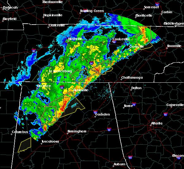 Radar Image for Severe Thunderstorms near Huntsville, AL at 3/29/2020 3:17 AM CDT
