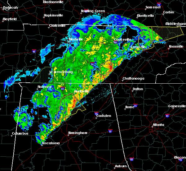 Radar Image for Severe Thunderstorms near Dunlap, TN at 3/29/2020 3:34 AM CDT