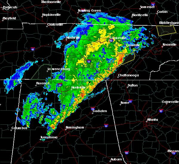Radar Image for Severe Thunderstorms near Dunlap, TN at 3/29/2020 3:51 AM CDT