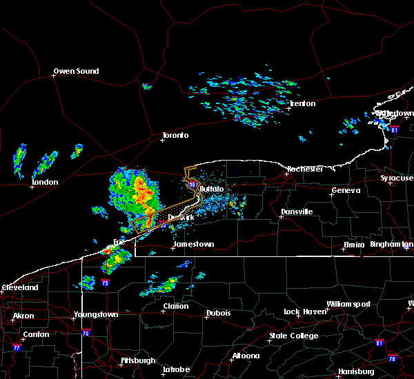 Radar Image for Severe Thunderstorms near Fairview, PA at 3/29/2020 1:21 PM EDT