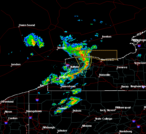 Radar Image for Severe Thunderstorms near East Avon, NY at 3/29/2020 2:44 PM EDT