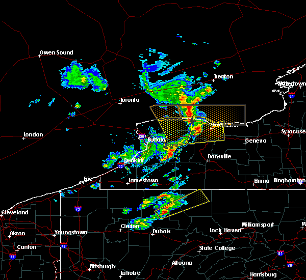 Radar Image for Severe Thunderstorms near East Avon, NY at 3/29/2020 3:03 PM EDT