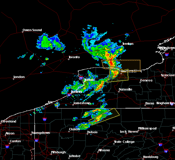 Radar Image for Severe Thunderstorms near Geneseo, NY at 3/29/2020 3:13 PM EDT